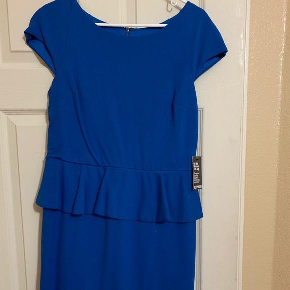 Express Dresses & Skirts - Peplum dress new
